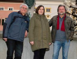 Josef Wittmann, Susanne Thomas und Dirk Reichenau