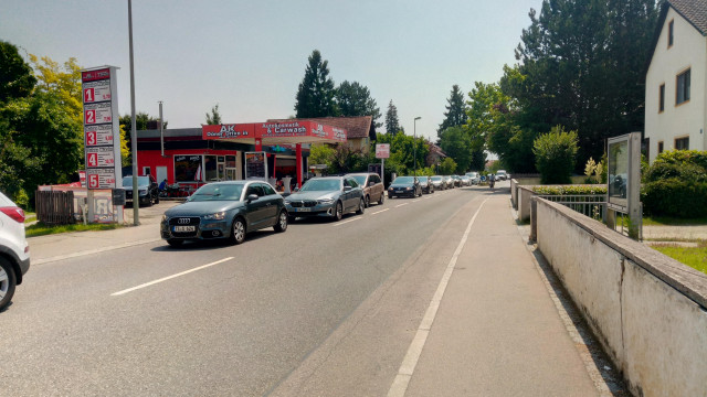 Tittmoning, Laufener Straße, 23. Juli 2021